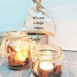 Sinterklaas zakje decoratie en geschenkverpakking wie zoet is krijgt lekkers